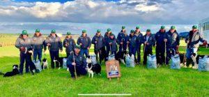 Irish Sheepdog Trial team